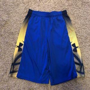 UA youth large shorts
